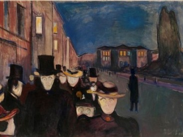 Edvard-Munch-Night-along-the-avenue-Karl-Johan