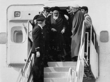 Arrival-of-Ayatollah-Khomeini-to-Iran-1979