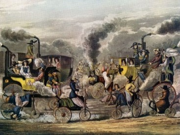 First-Industrial-Revolution-steam-carriages
