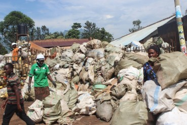 Women-in-eastern-Ugnadas-Mbale-city-collect-platic-waste-for-recycing.-Proponents-of-upcycling-say-while-such-waste-is-turned-into-reusable-plastic-products-they-end-up-polluting-the-environment.
