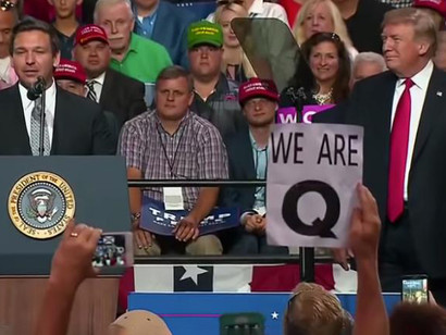 Qs-devotees-are-oblivious-to-criticism-of-Trumps-performance-as-president