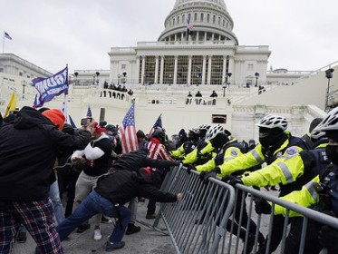 The-violent-storming-of-the-Capitol-by-a-Trumpian-mob